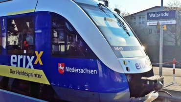 Walsrode Anfahrt Zug Verkehr Bahnhof Bahn