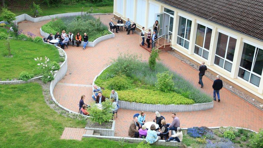 Walsrode Haus Außenansicht Luftaufnahme Garten